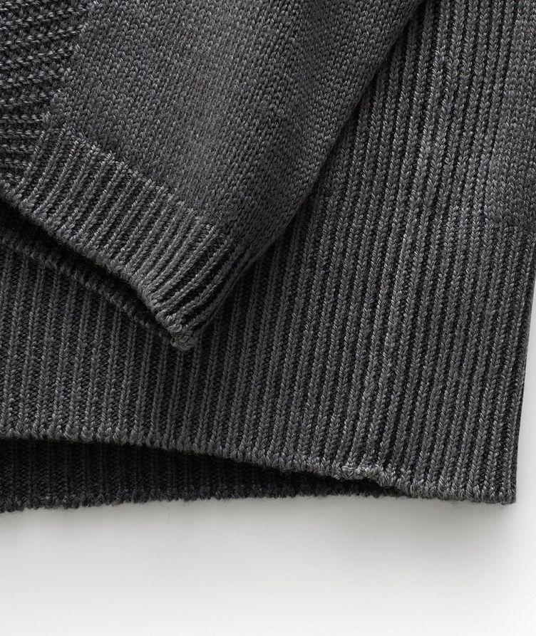 Pull en laine vierge à col roulé image 2