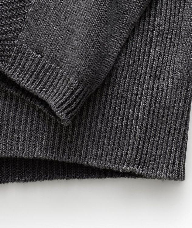 Pull en laine vierge à col roulé picture 3