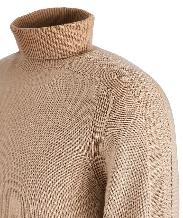 Foggy Virgin Wool Turtleneck image 1