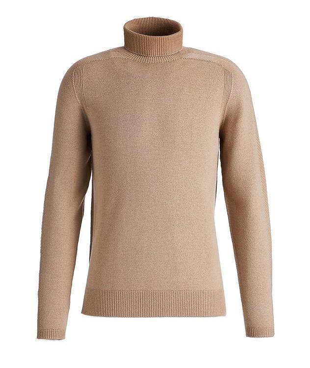 Foggy Virgin Wool Turtleneck picture 1
