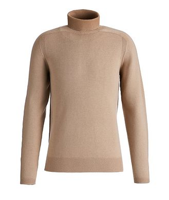 04651/ A TRIP IN A BAG Foggy Virgin Wool Turtleneck