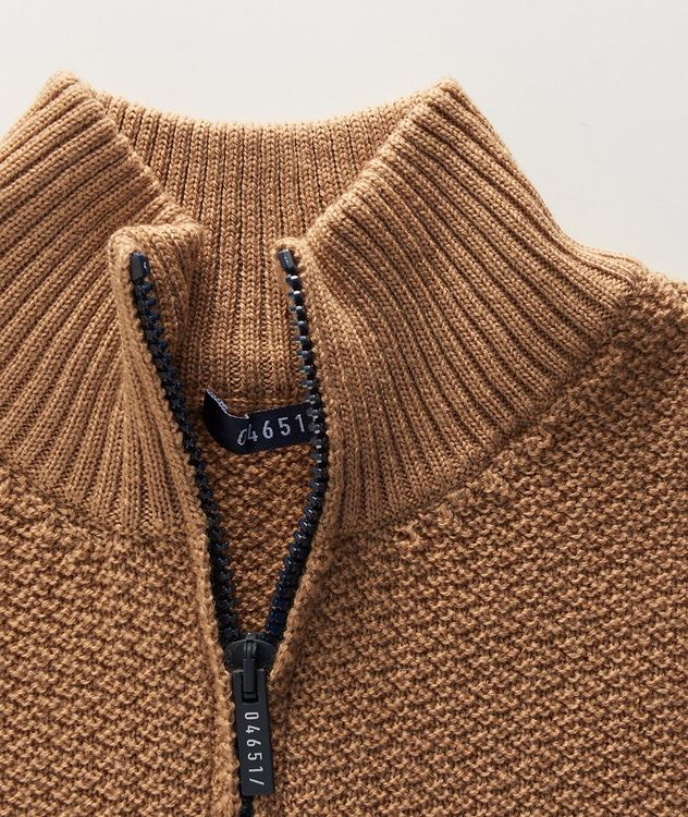 Half-Zip Merino Sweater picture 2