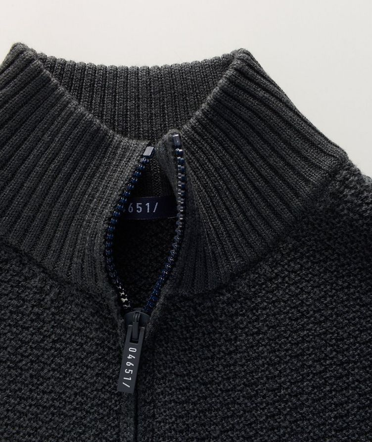Half-Zip Merino Sweater image 1