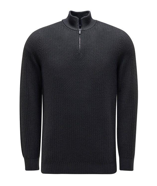 Half-Zip Merino Sweater picture 1