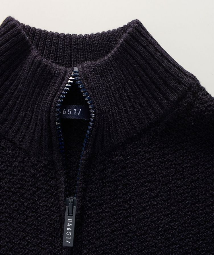 Half-Zip Merino Sweater image 1