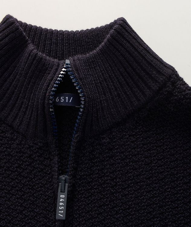 Half-Zip Merino Sweater picture 2