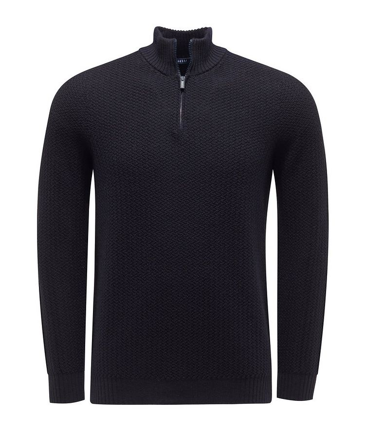 Half-Zip Merino Sweater image 0