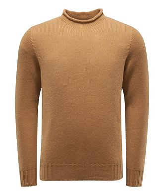 04651/ A TRIP IN A BAG Knitted Roll-Neck Sweater