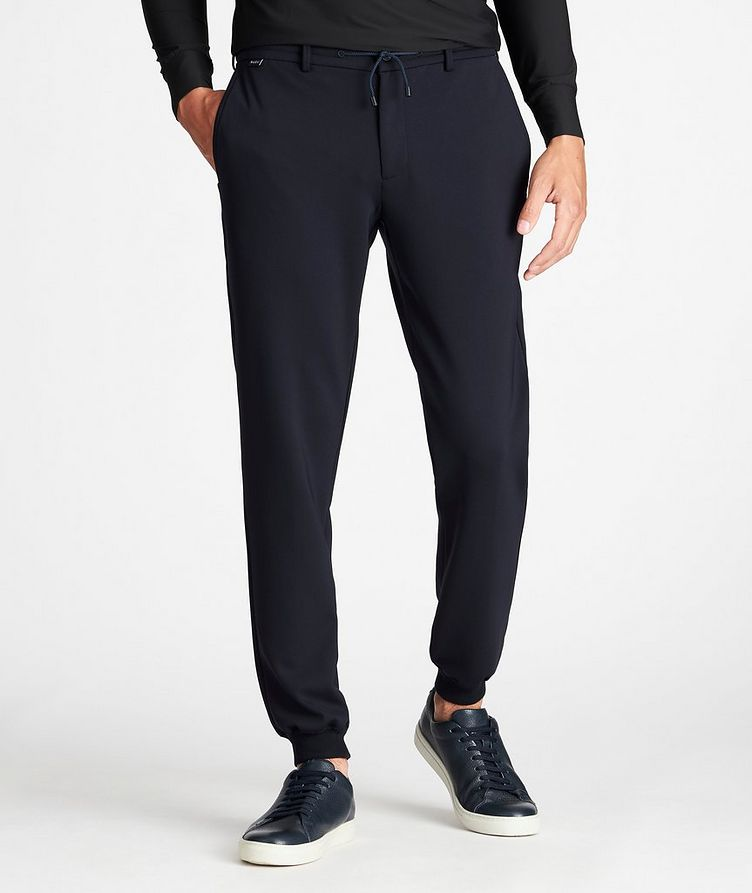 Drawstring Technical-Stretch Joggers image 1