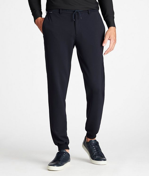 Drawstring Technical-Stretch Joggers picture 2