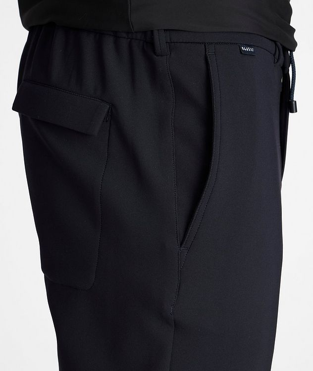 Drawstring Technical-Stretch Joggers picture 4