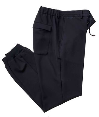 0 4 6 5 1 / A TRIP IN A BAG Drawstring Technical-Stretch Joggers