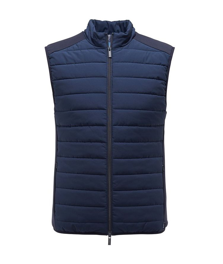 Quilted Puffer Vest image 0