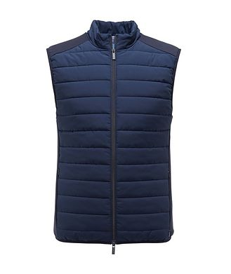 04651/ A TRIP IN A BAG Quilted Puffer Vest