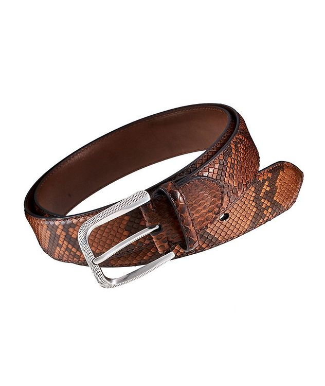 Python Leather Belt picture 1