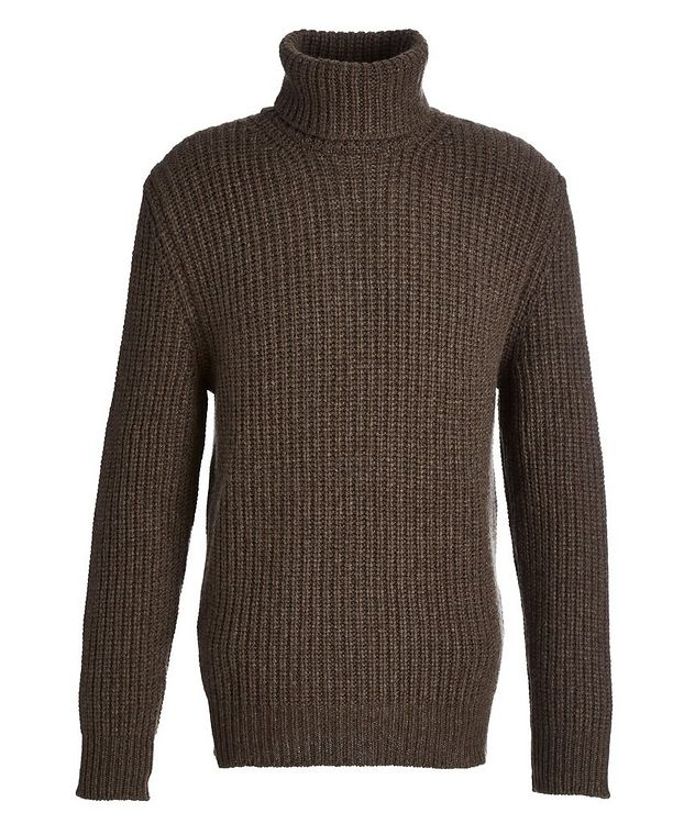 Cable Knit Cashmere Turtleneck picture 1