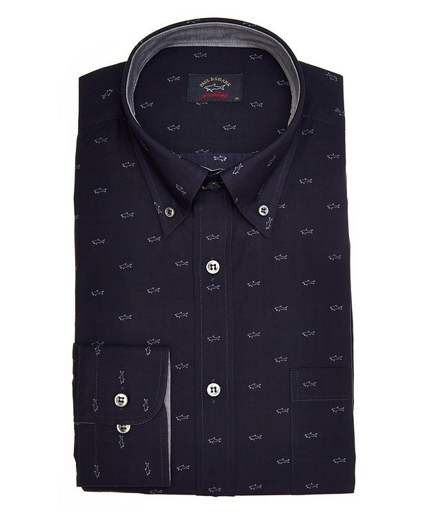 Shark Printed Cotton Shirt picture 1