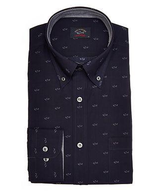 Paul & Shark Shark Printed Cotton Shirt