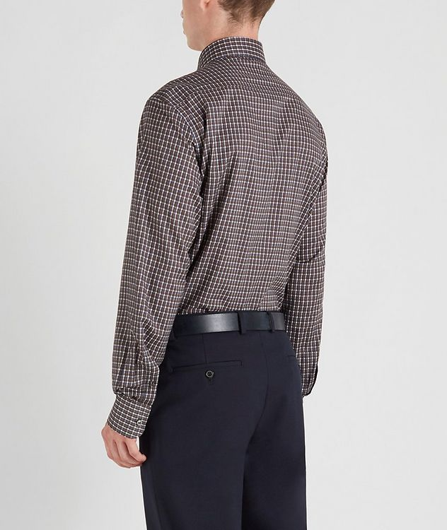 Houndstooth Cotton Sports Shirt picture 3
