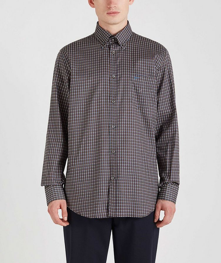 Houndstooth Cotton Sports Shirt image 3