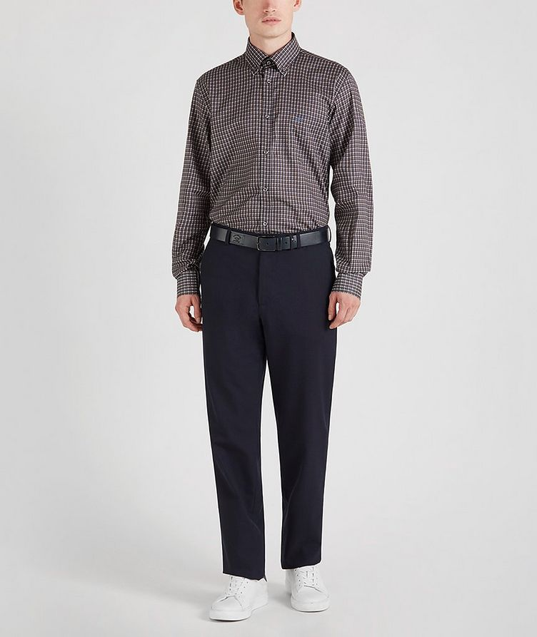 Houndstooth Cotton Sports Shirt image 5
