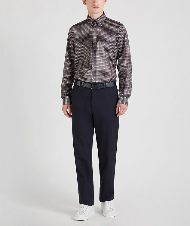 Houndstooth Cotton Sports Shirt picture 6