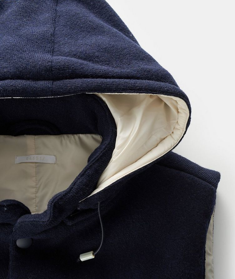Hooded Wool Vest image 1