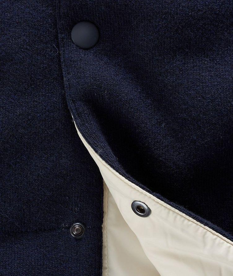 Hooded Wool Vest image 2