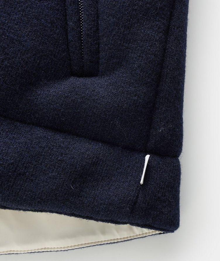Hooded Wool Vest image 4