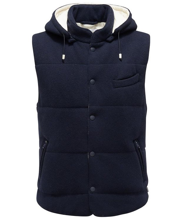 Hooded Wool Vest picture 1
