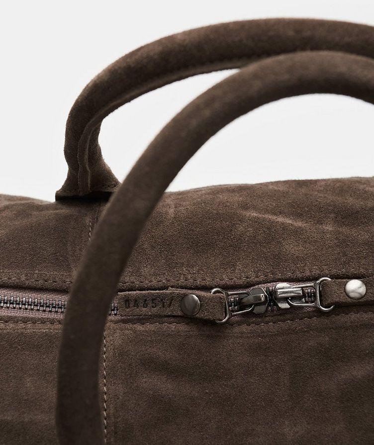 Suede Weekender Bag image 1