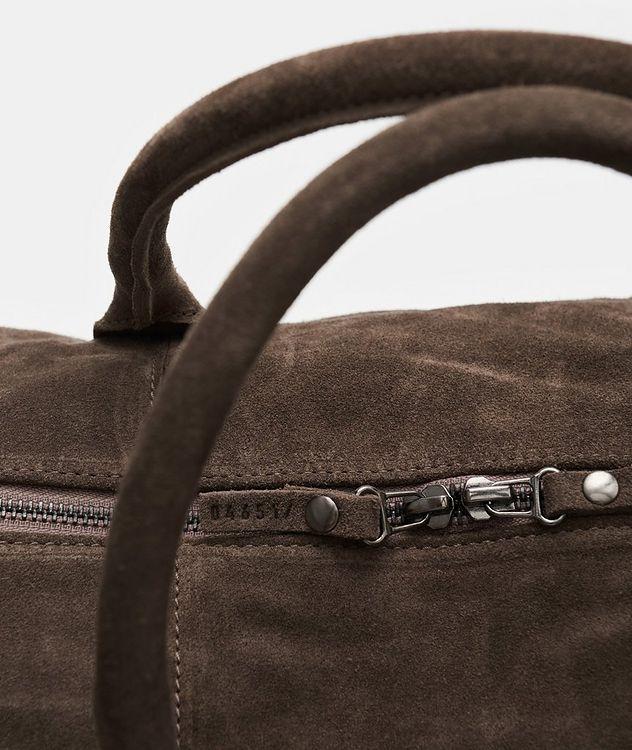 Suede Weekender Bag picture 2