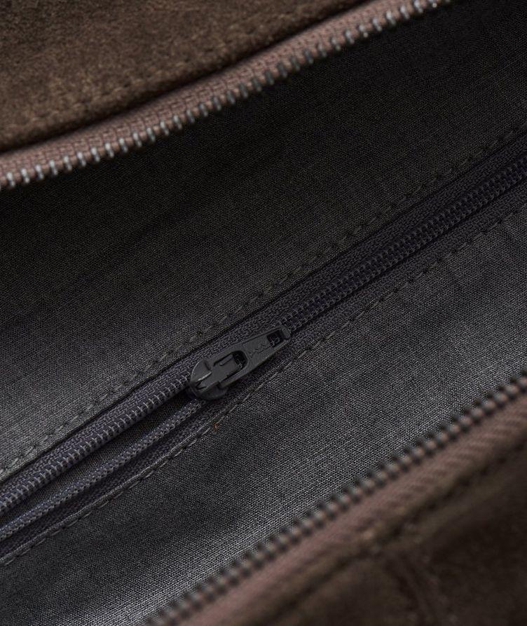 Suede Weekender Bag image 3