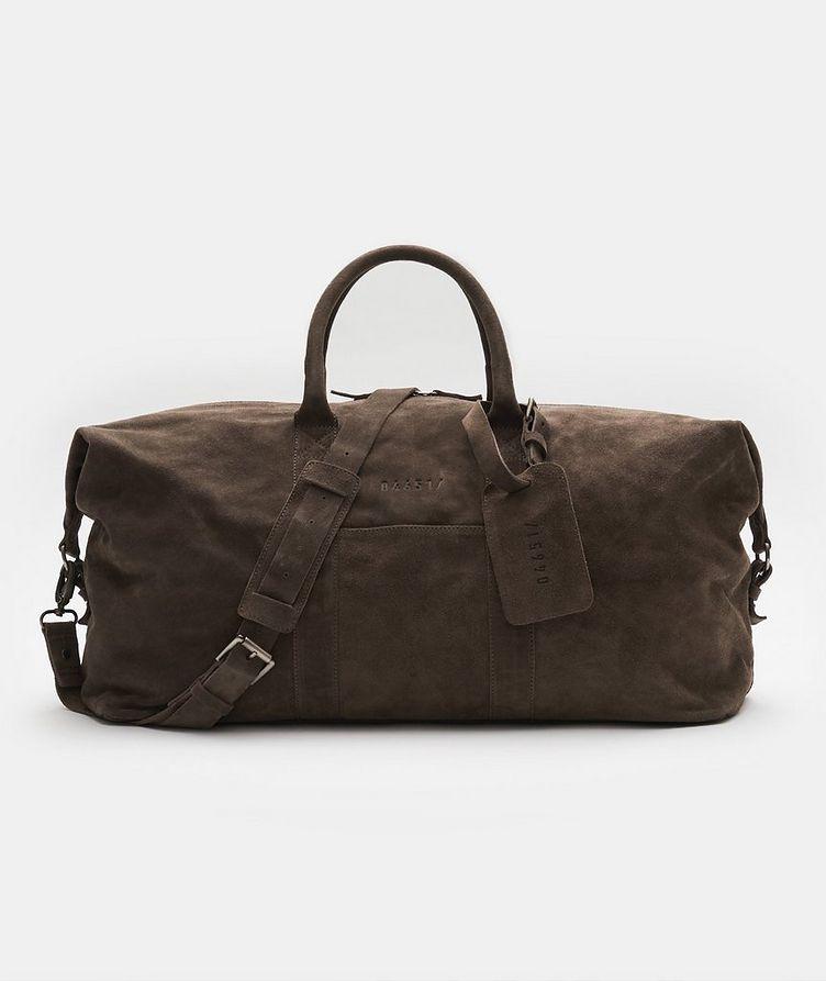 Suede Weekender Bag image 0