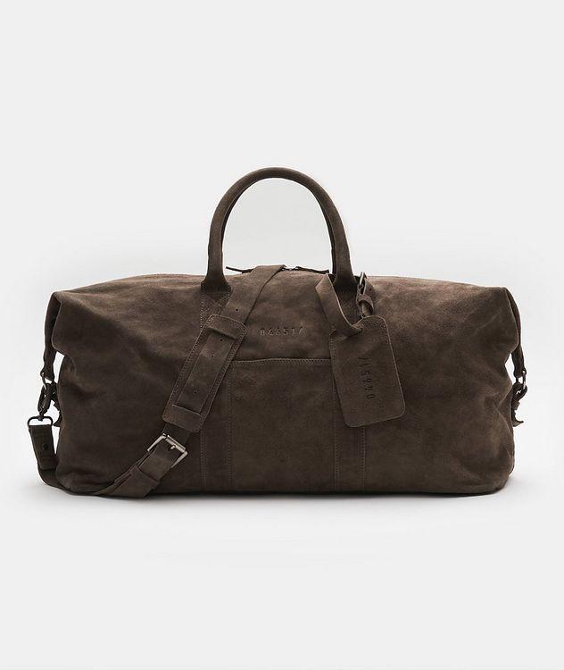 Suede Weekender Bag picture 1