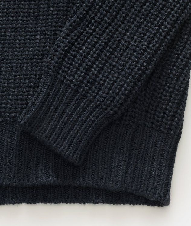 Cable Knit Cashmere Turtleneck picture 3
