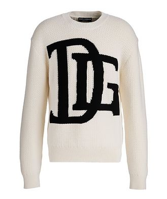 Dolce & Gabbana Quilted Wool Sweater