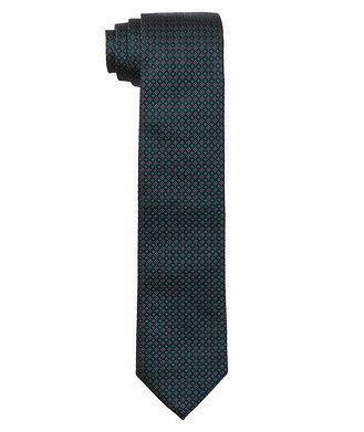 Altea Neat Printed Silk Tie