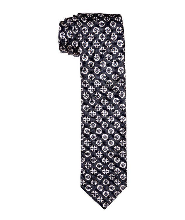 Printed Wool-Silk Tie picture 1