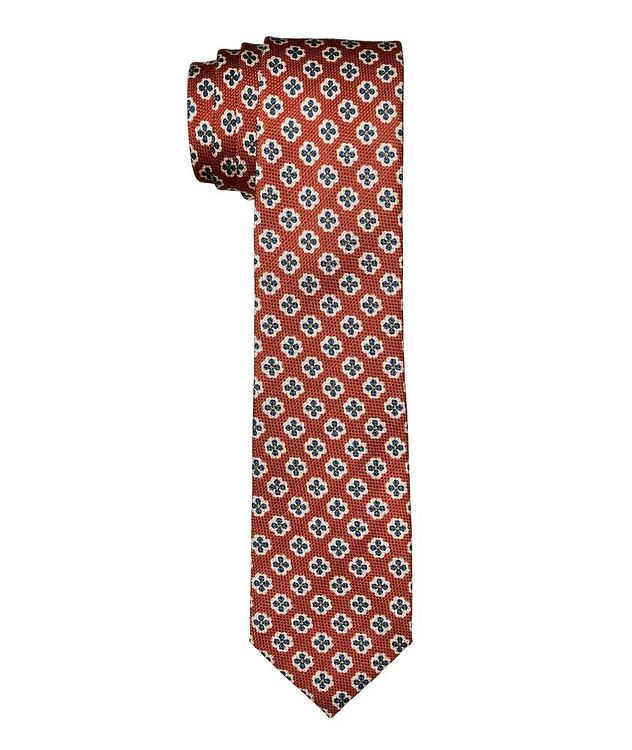 Botanical Wool-Silk Tie picture 1