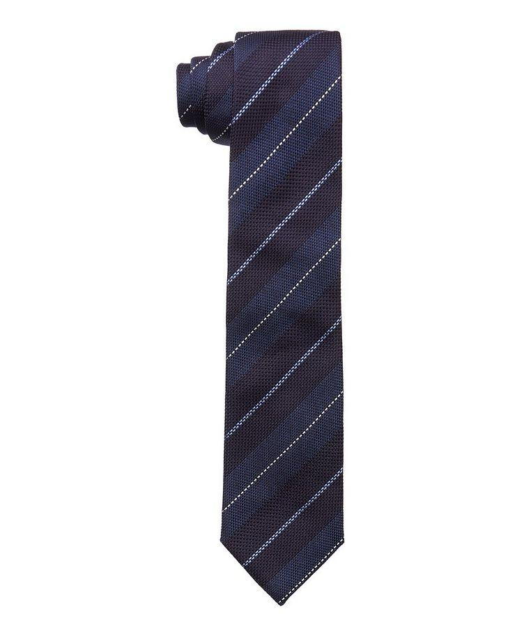 Pencil Stripe Silk Tie image 0