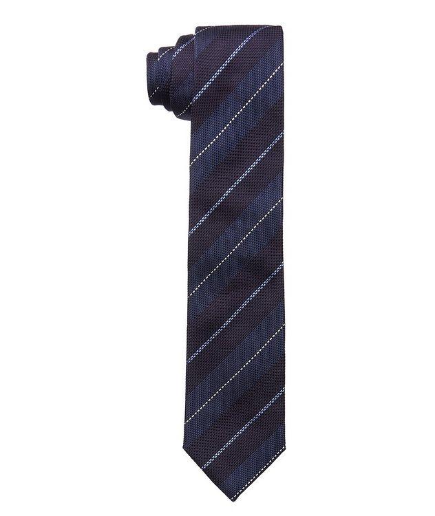 Pencil Stripe Silk Tie picture 1