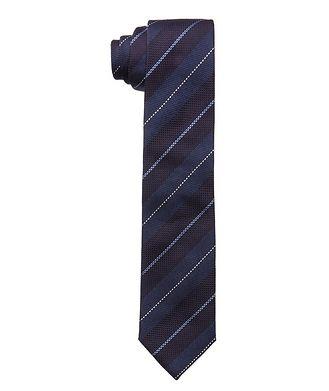 Altea Pencil Stripe Silk Tie