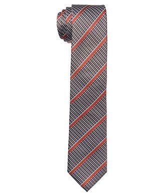 Altea Striped Silk Tie