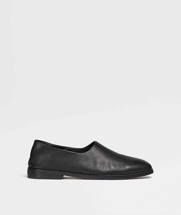 Calfskin Slip-Ons picture 4
