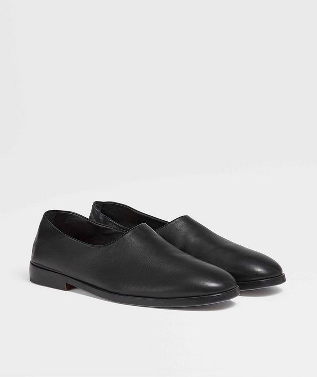 Calfskin Slip-Ons picture 1