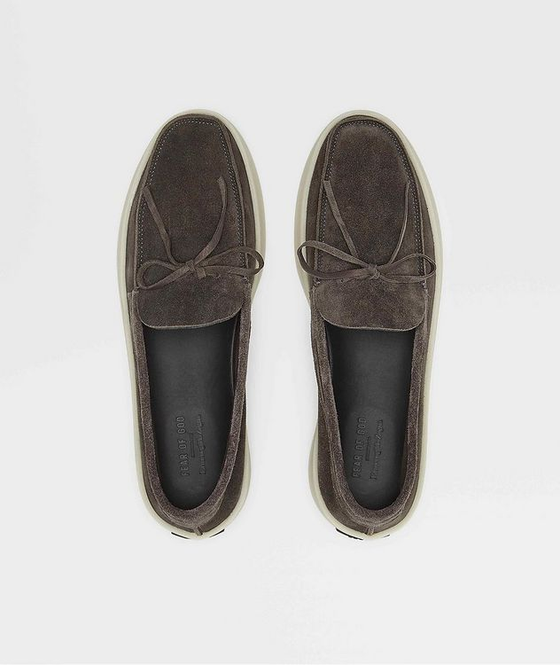 FEAROFGODZEGNA Suede Loafers picture 2