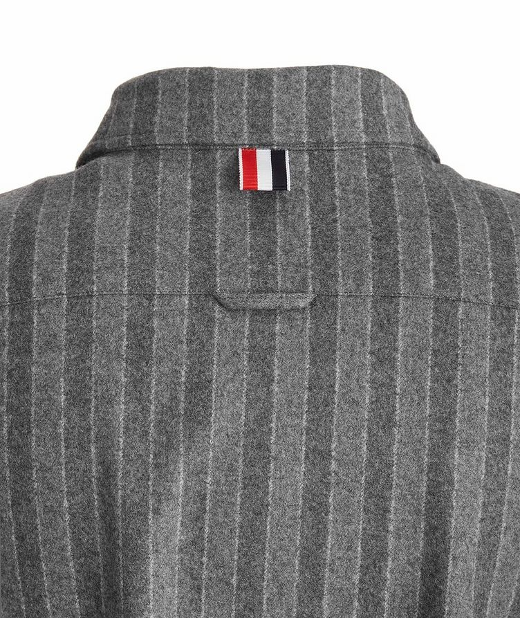 Wool Flannel Coach's Jacket image 3