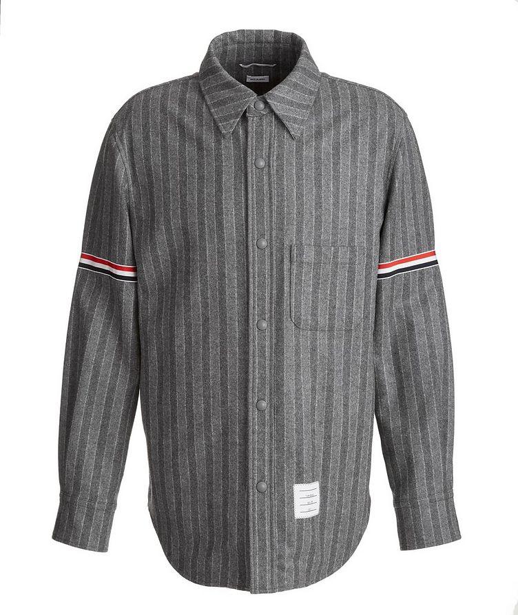 Wool Flannel Coach's Jacket image 0
