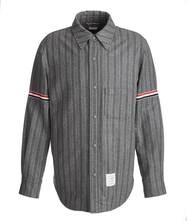 Wool Flannel Coach's Jacket picture 1